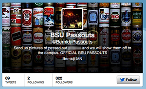 The BSU Passout page on Twitter.