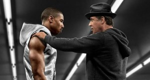 Sylvester Stallone and Michael B. Jordan take to the ring