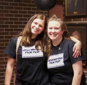Hannah Cook and Michelle Bennett breathe a sigh of relief that all of their hard work is about to pay off.